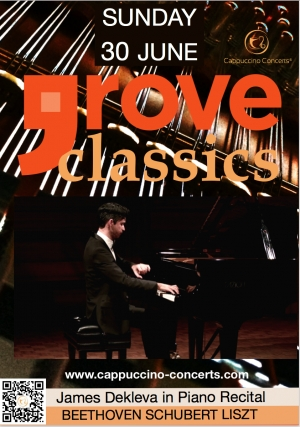 GROVE CLASSICS 2019 James Dekleva in Piano Recital