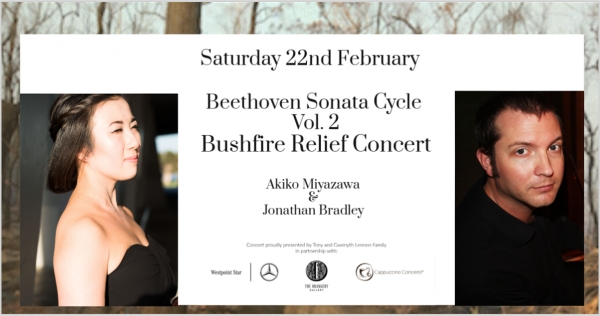 Beethoven Sonata Cycle Vol.2 Bushfire Relief Concert